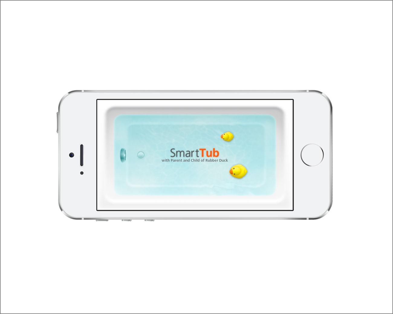 SmartTubアプリ iPhone用起動画面