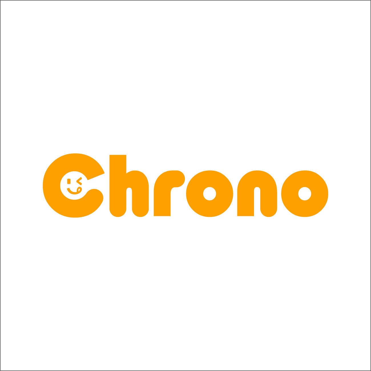 Chrono (クロノ) アプリ ロゴタイプ