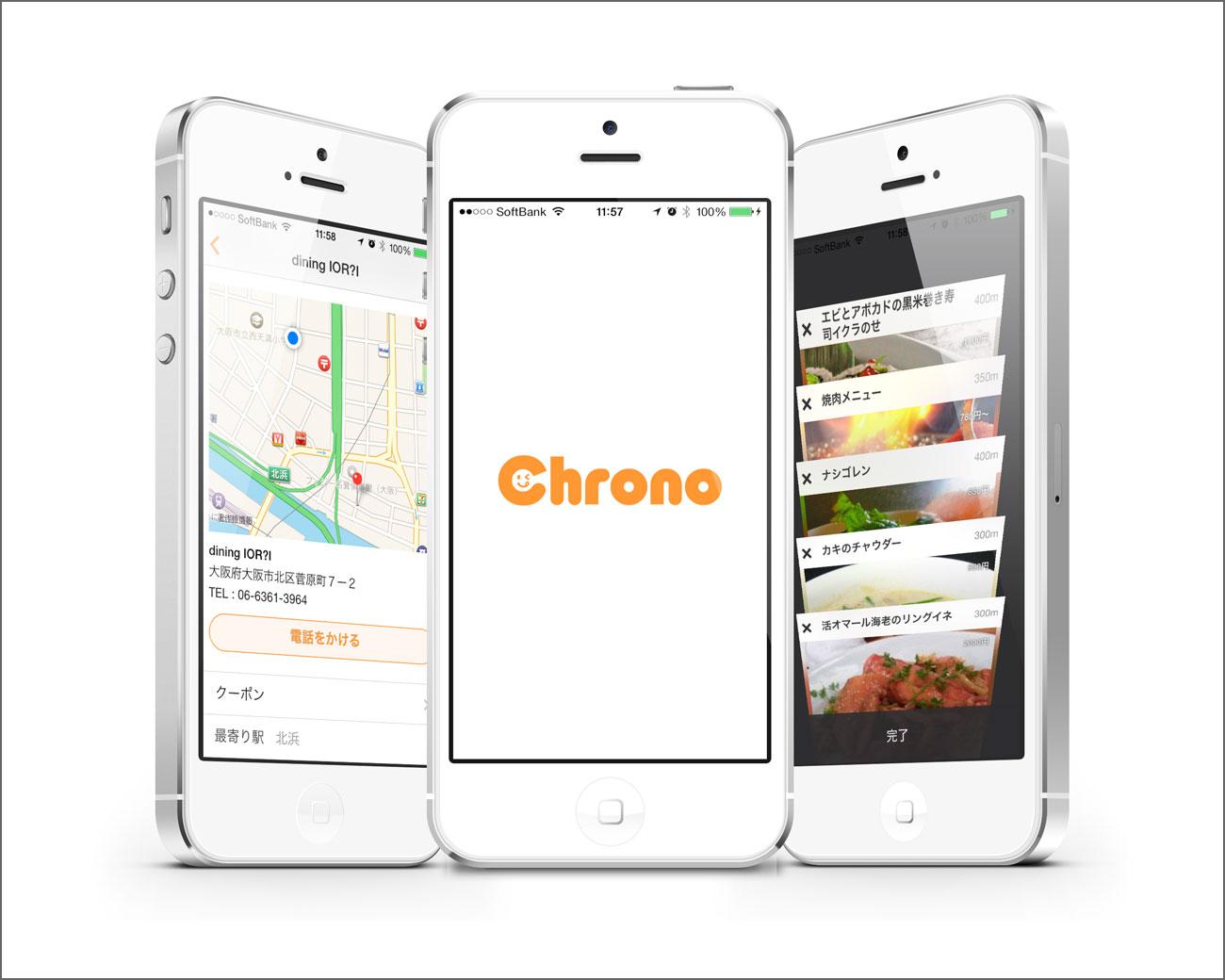 Chrono (クロノ) アプリ スクリーンショット
